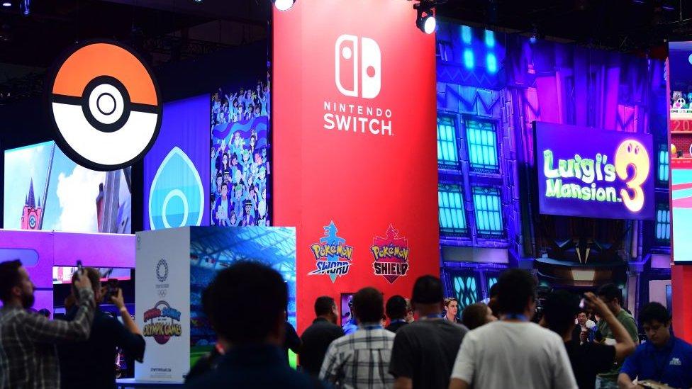 People attending E3 in LA