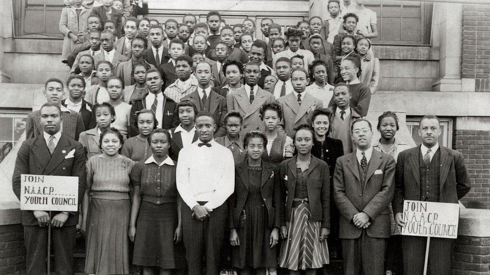 Miembros de la NAACP.