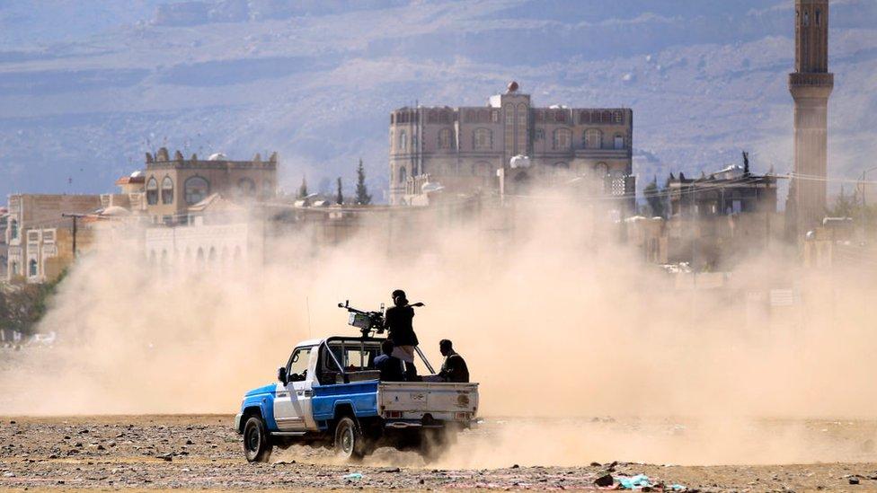 الحرب في اليمن. صورة أرشيفية