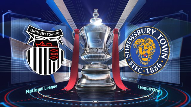 FA Cup: Grimsby 0-0 Shrewsbury highlights