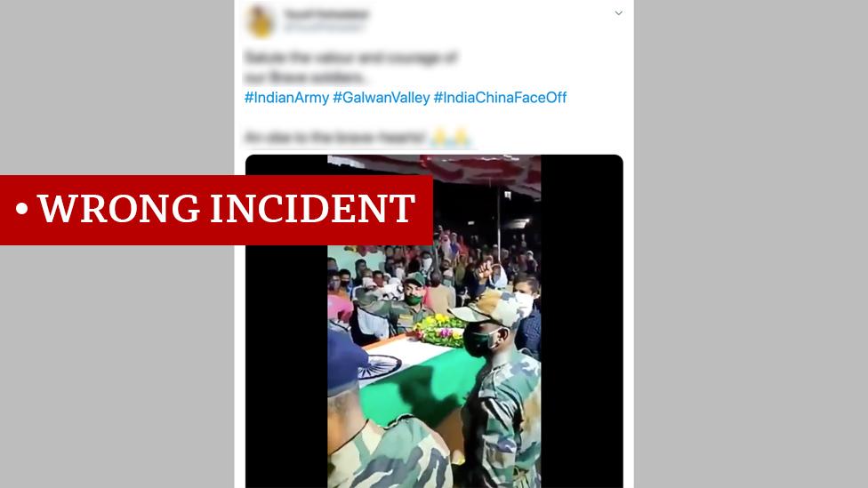 事實核查結論:視頻中事件不是中印衝突