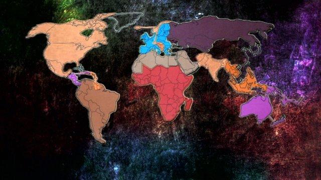 The world's economic communities