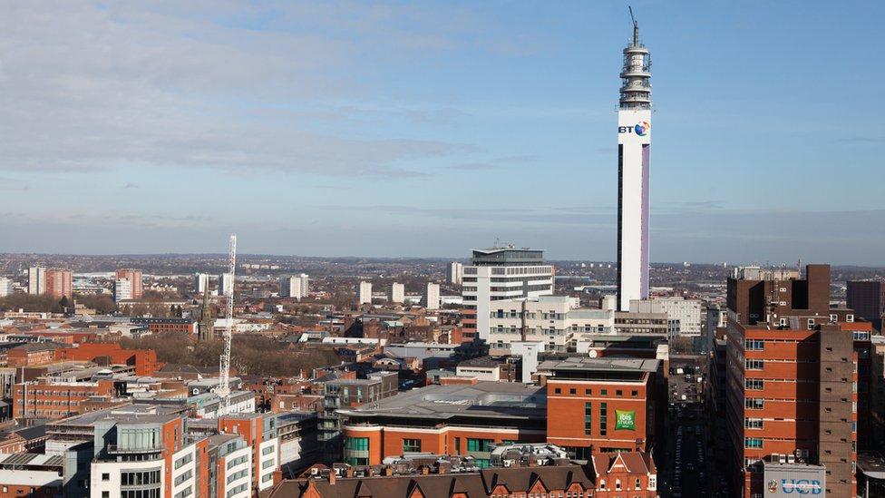 Vista de Birmingham