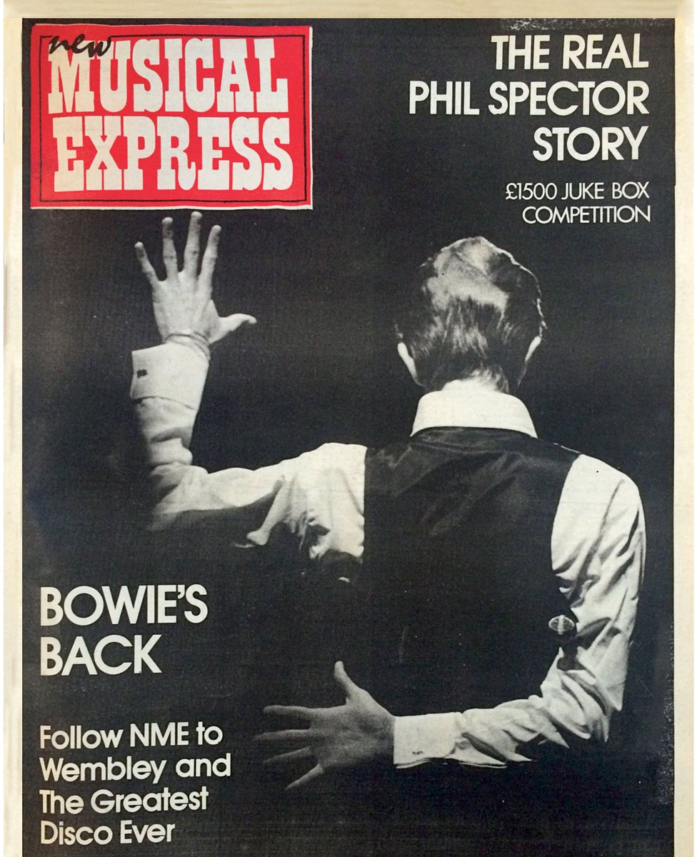 David Bowie's NME cover