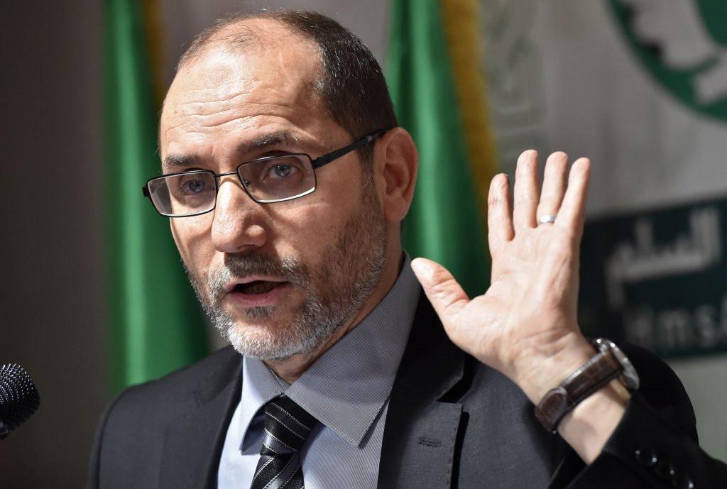 رئيس حركة مجتمع السلم عبد الرازق مقري