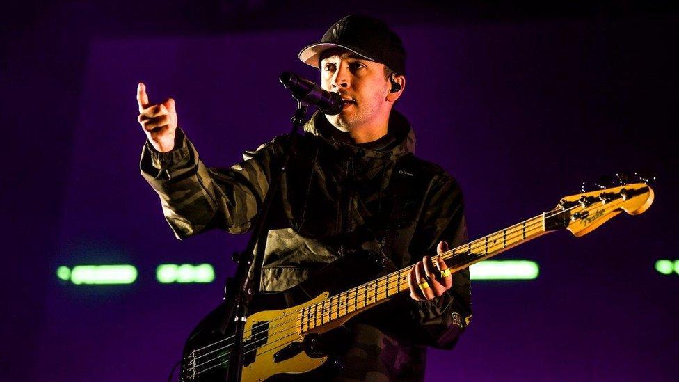Twenty One Pilots perform at Radio 1's Big Weekend in Middlesborough