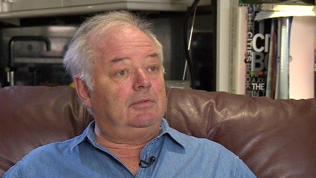 John Marsh, bowel cancer survivor