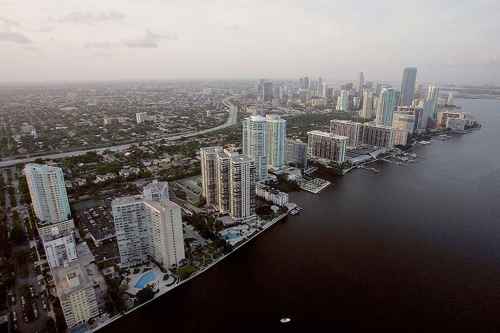 Una vista de Miami