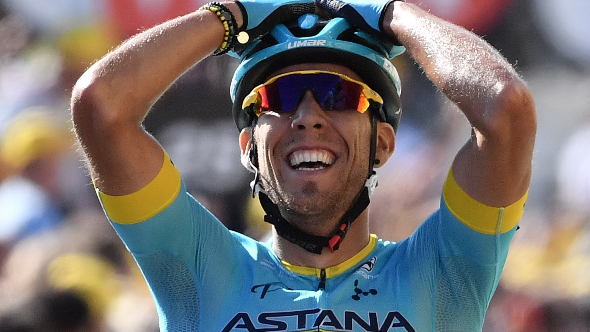 Fraile wins stage 14 of Tour de France, Thomas keeps yellow