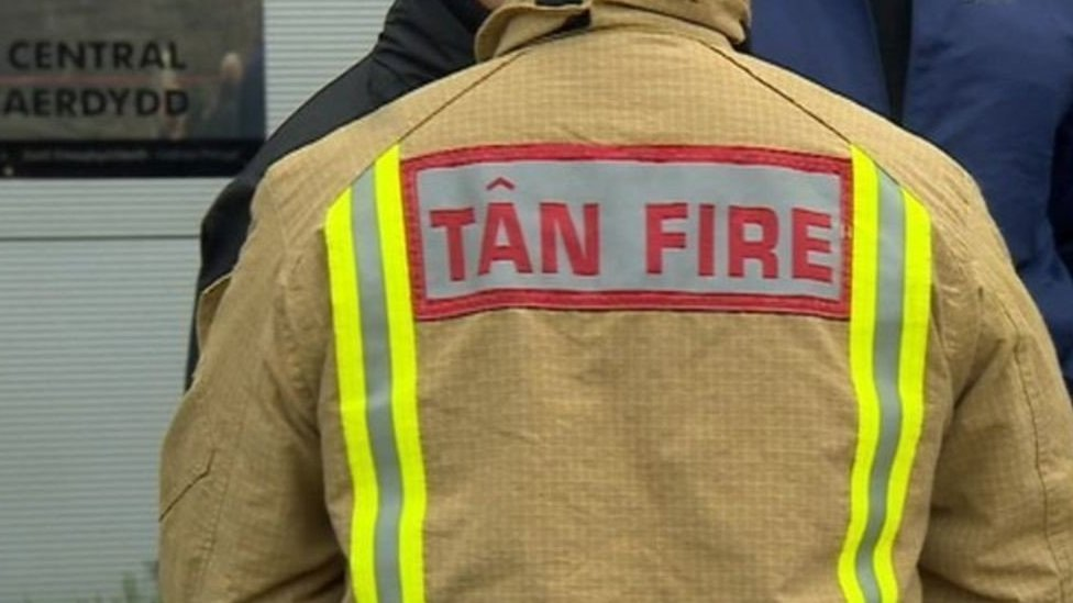 Bottle attack on Abercynon firefighters 'appalling'