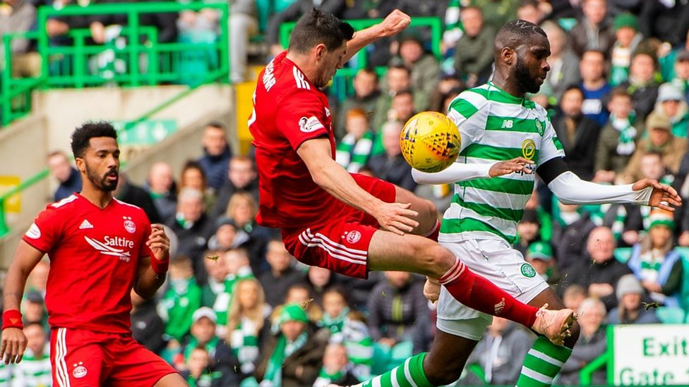 Aberdeen's Scott McKenna defender given two-game ban for challenge on Celtic's Odsonne Edouard