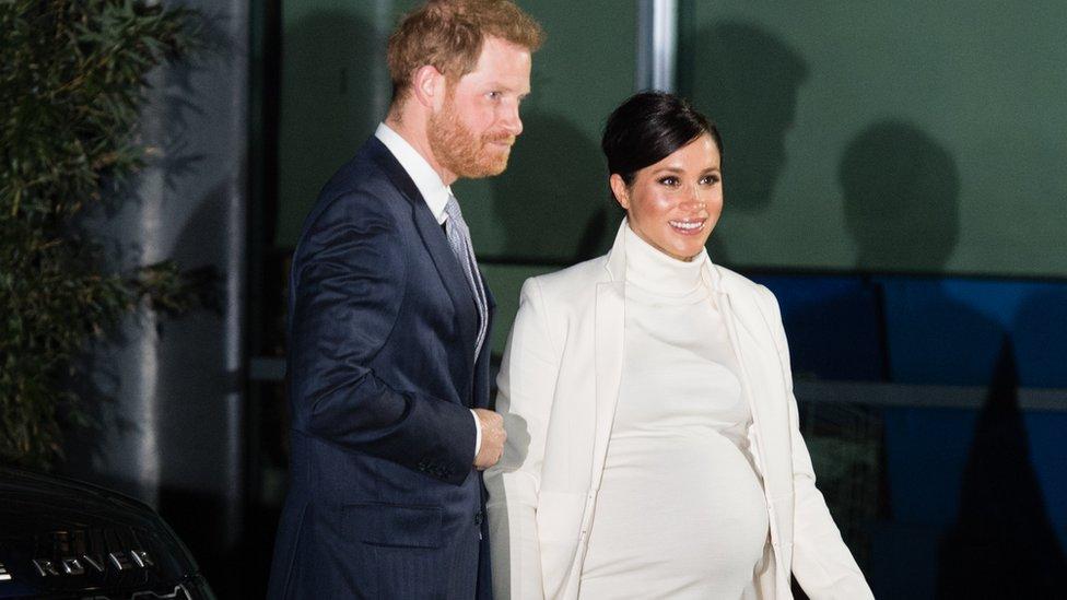 哈里王子與梅根