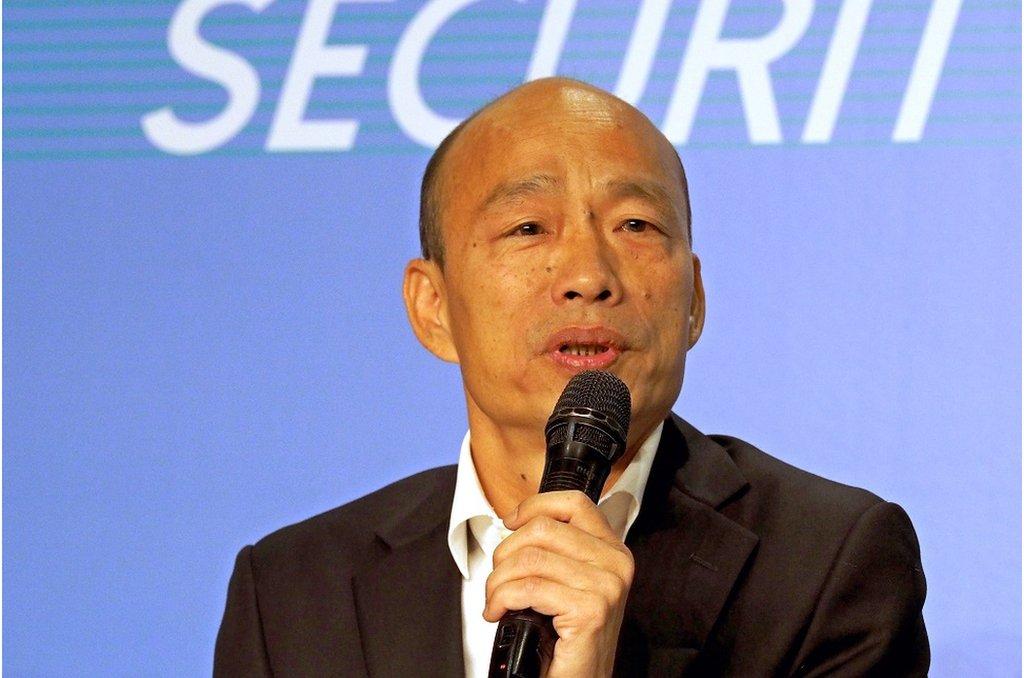 韓國瑜認為,不論北京或是香港政府,都應該傾聽香港人民心聲。