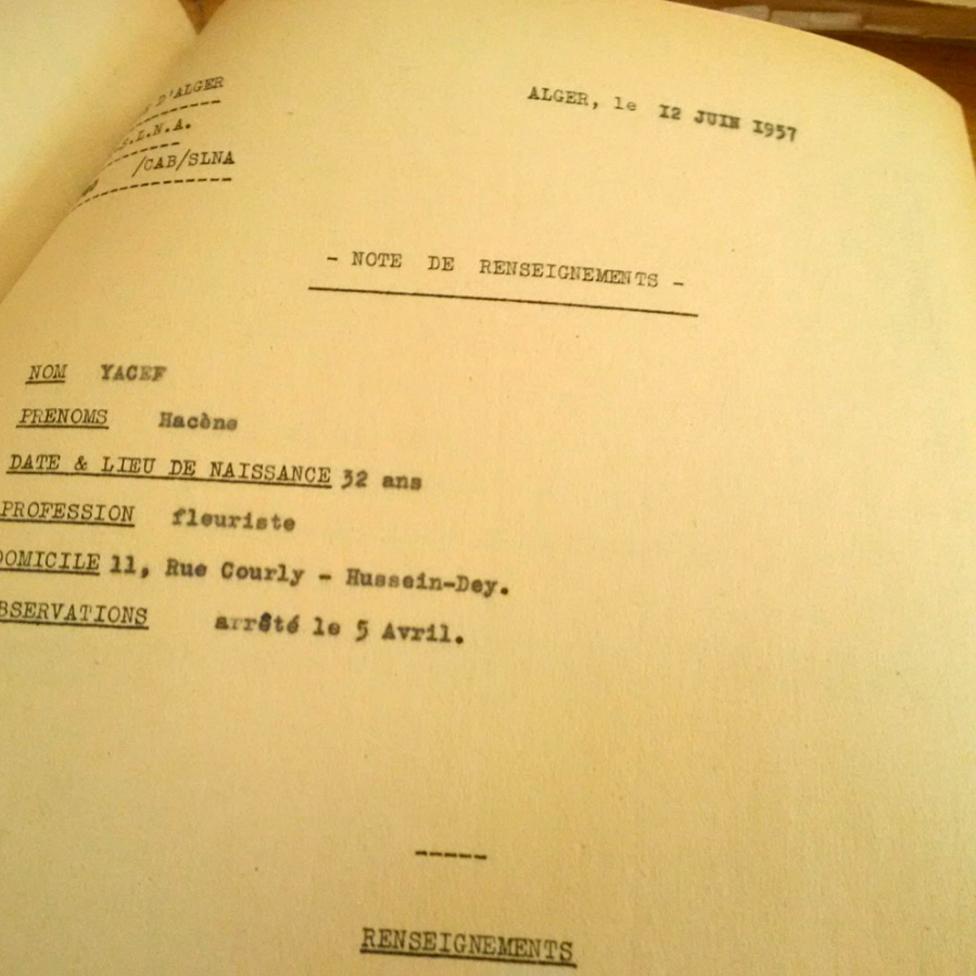 Una imagen de los documentos de la web