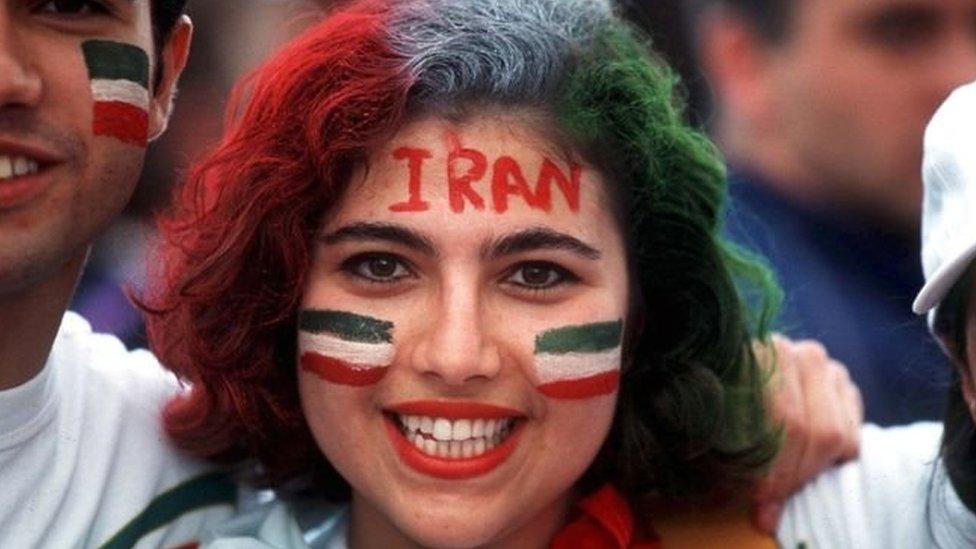 يحظر على النساء حضور المبارايات منذ اندلاع الثورة الإسلامية عام 1979