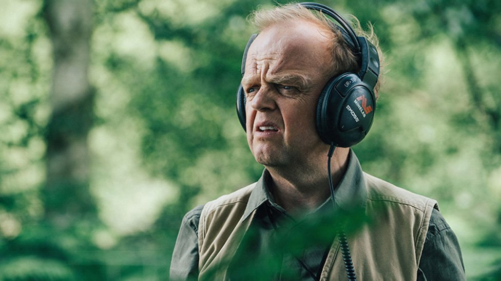 Toby Jones played Lance, who has a passion for metal detecting, in the popular comedy series, Detectorists
