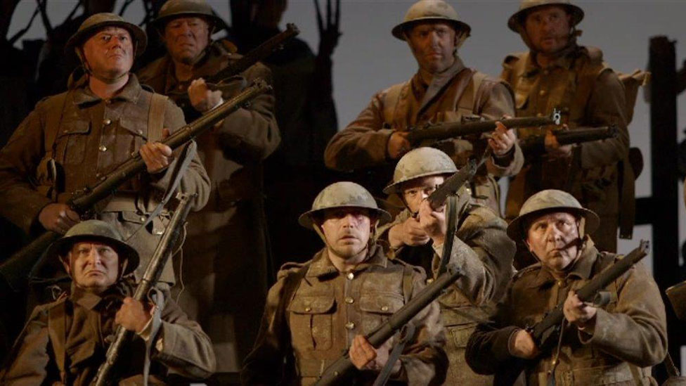 WNO's production of In Parenthesis, a new opera commemorating the centenary of the Battle of Mametz Wood.