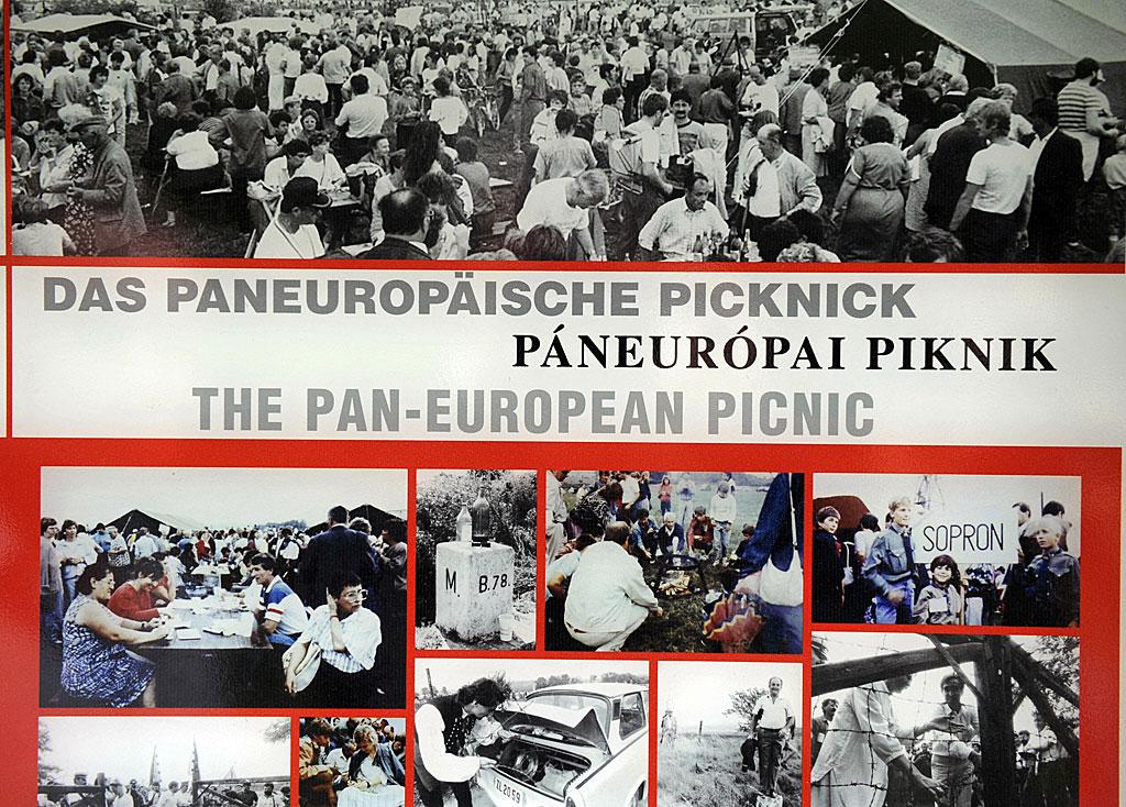 Imágenes del Pícnic paneuropeo.