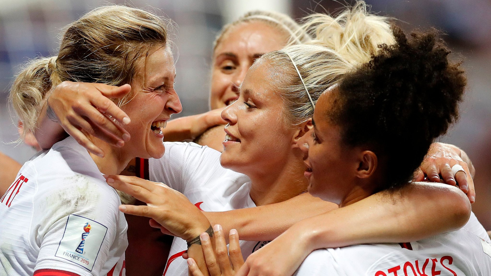 White hits double as England top group with win over Japan - highlights & report