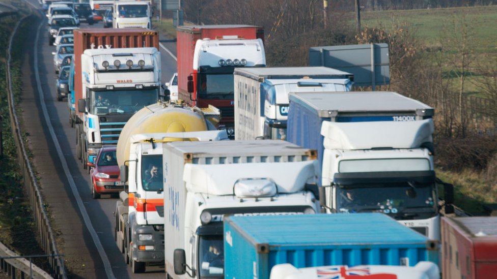 Brexit: Could leaving with no deal cause traffic jams?