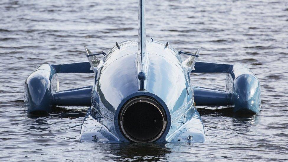 Bluebird: Iconic craft set for Scottish loch test run