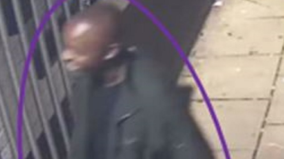 CCTV image of the man police are still seeking to identify