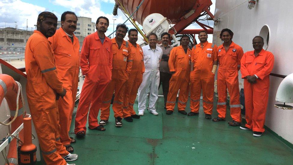 Malaviya Seven crew