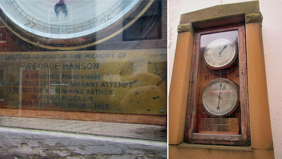 George Hanson memorial