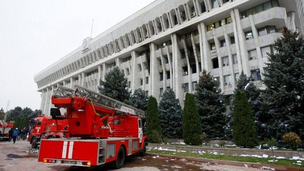 Parlamento de Kirguistán