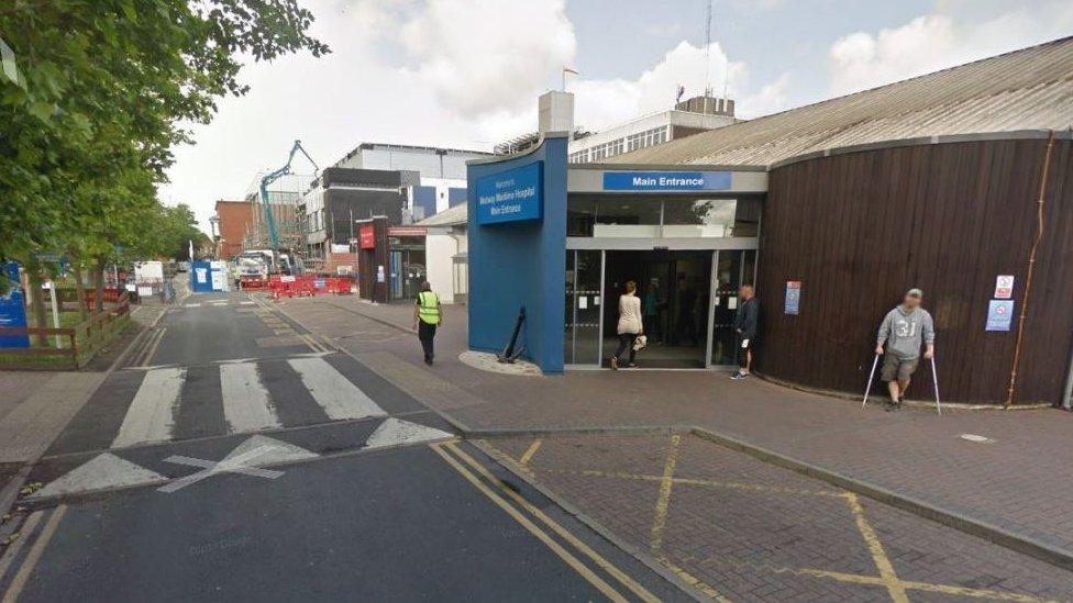 Medway hospital admits childbirth swab left in woman
