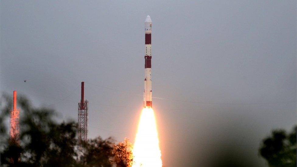 印度衛星發射2020