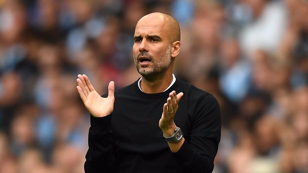 Man City 6-1 Huddersfield: Pep Guardiola praises 'attitude' & 'desire'