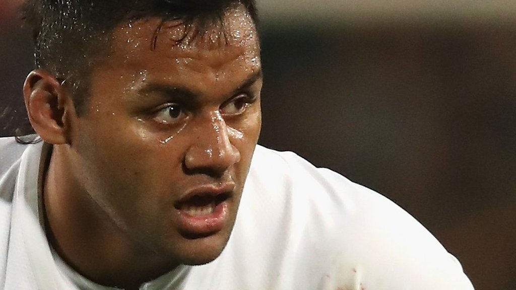 England's Vunipola 'healing well' from broken arm