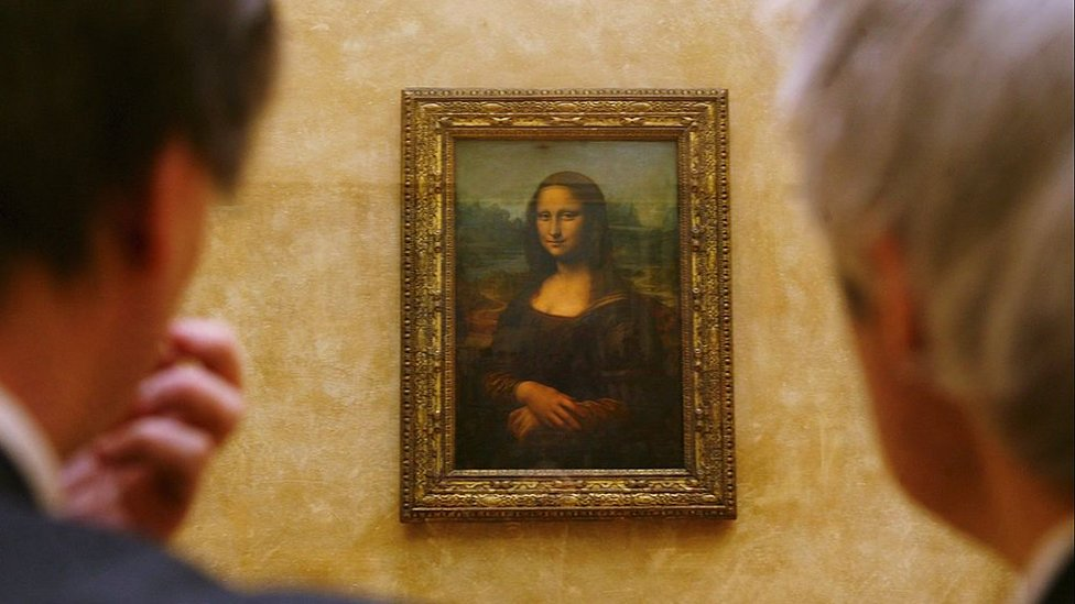 Mona Lisa in the Louvre