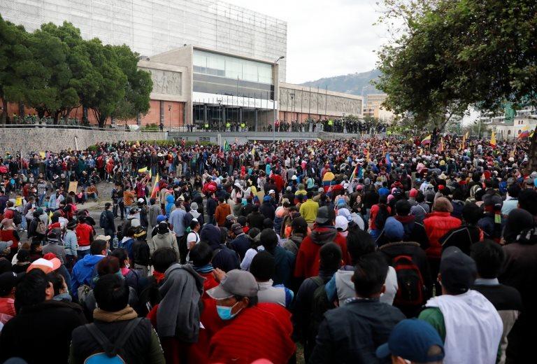 Protesta en la Asamblea Nacional