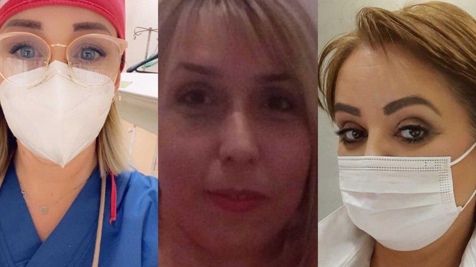 Irena, Tatjana i Sanja