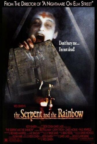 Cartaz do filme 'The Serpent and the Rainbow'