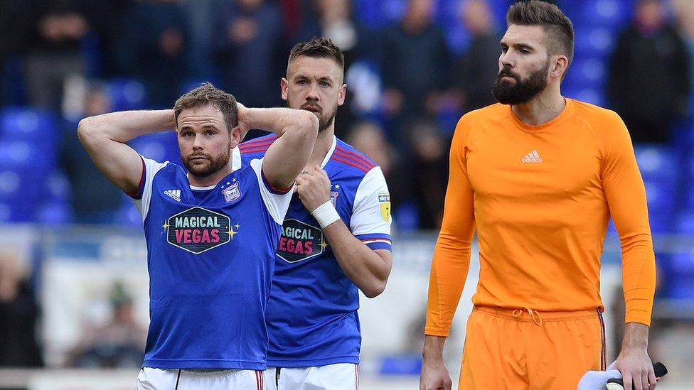 Relegated Ipswich cut season ticket price