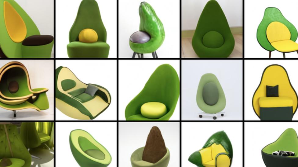 Armchair avocados