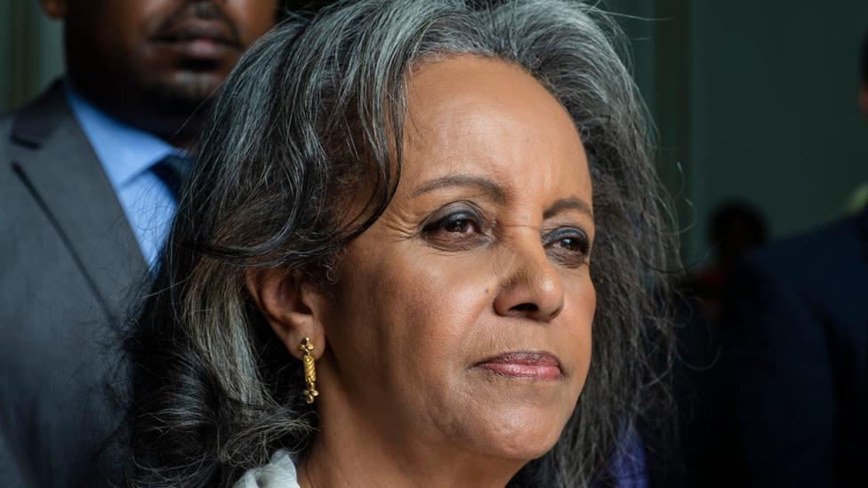 Ethiopian President Sahle-Work Zewde