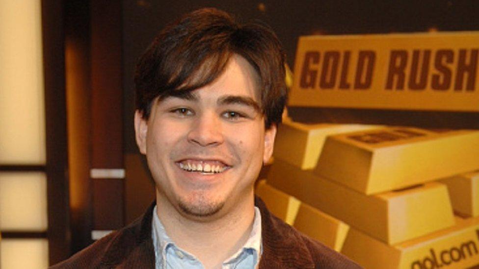 Michael Kearney, fotografiado con 22 años.