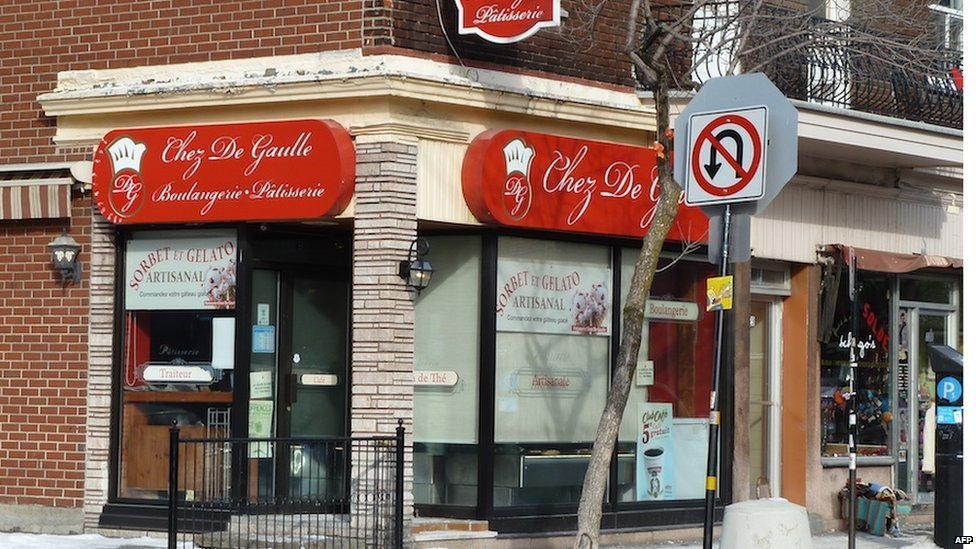 A bakery in Montreal