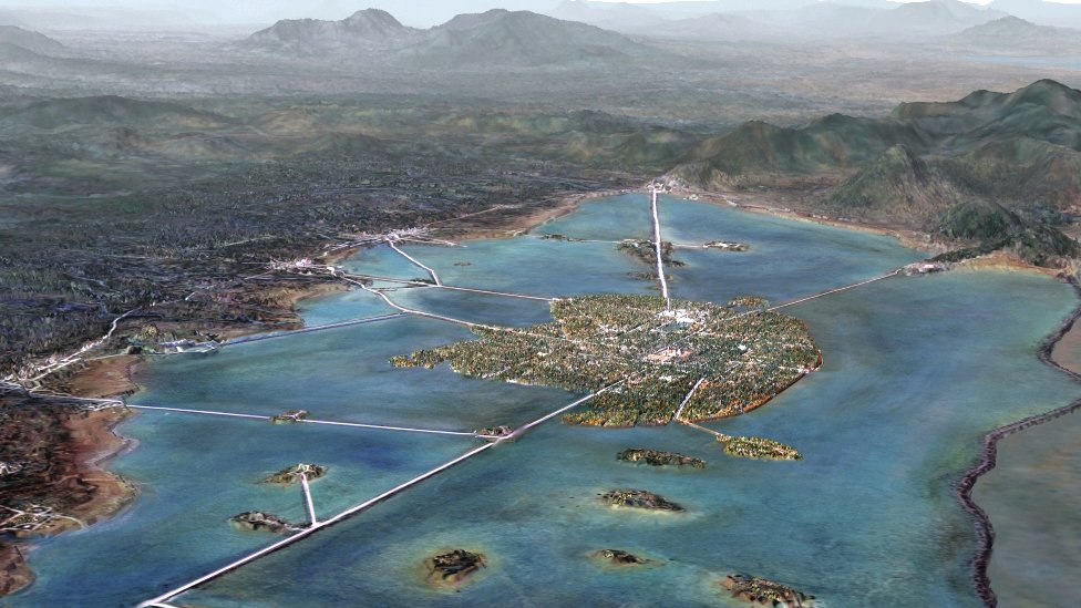 Una representación de México-Tenochtitlan