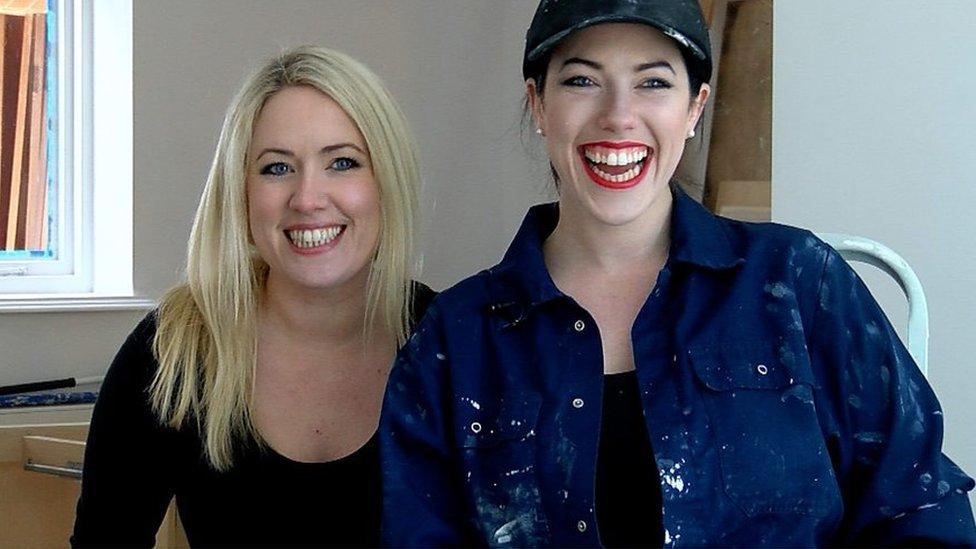 Daughters of Davis renovate grandma's house to fund music