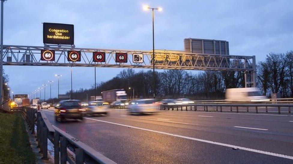M4 'smart motorway' upgrade work under way