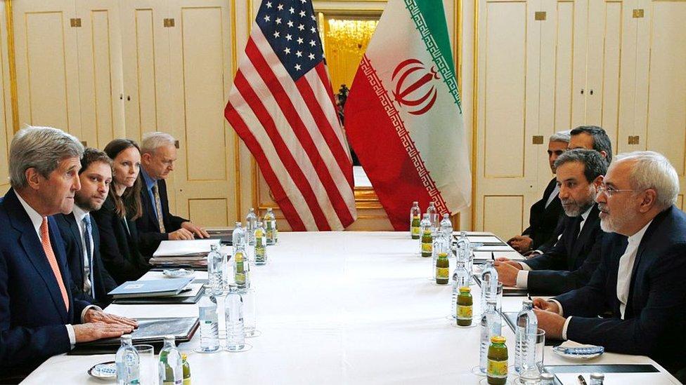 Negociaciones del acuerdo nuclear con Irán.