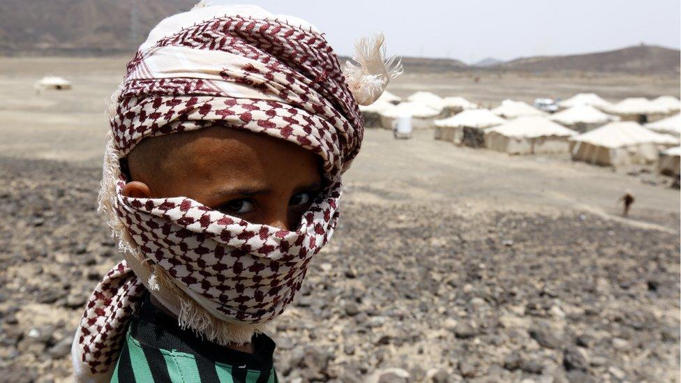 niño en Yemen