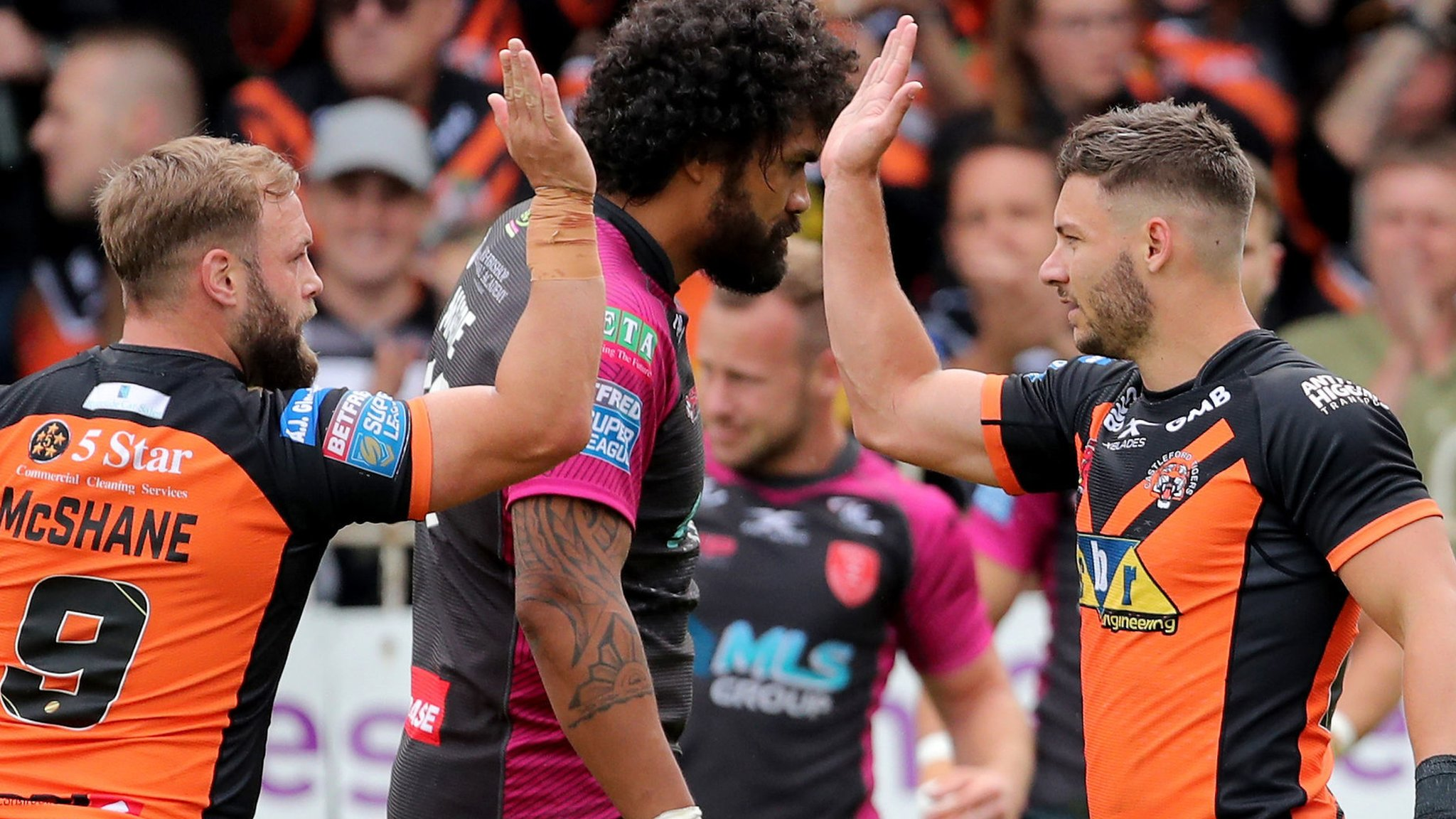 Super League: Castleford Tigers 24-24 Hull KR