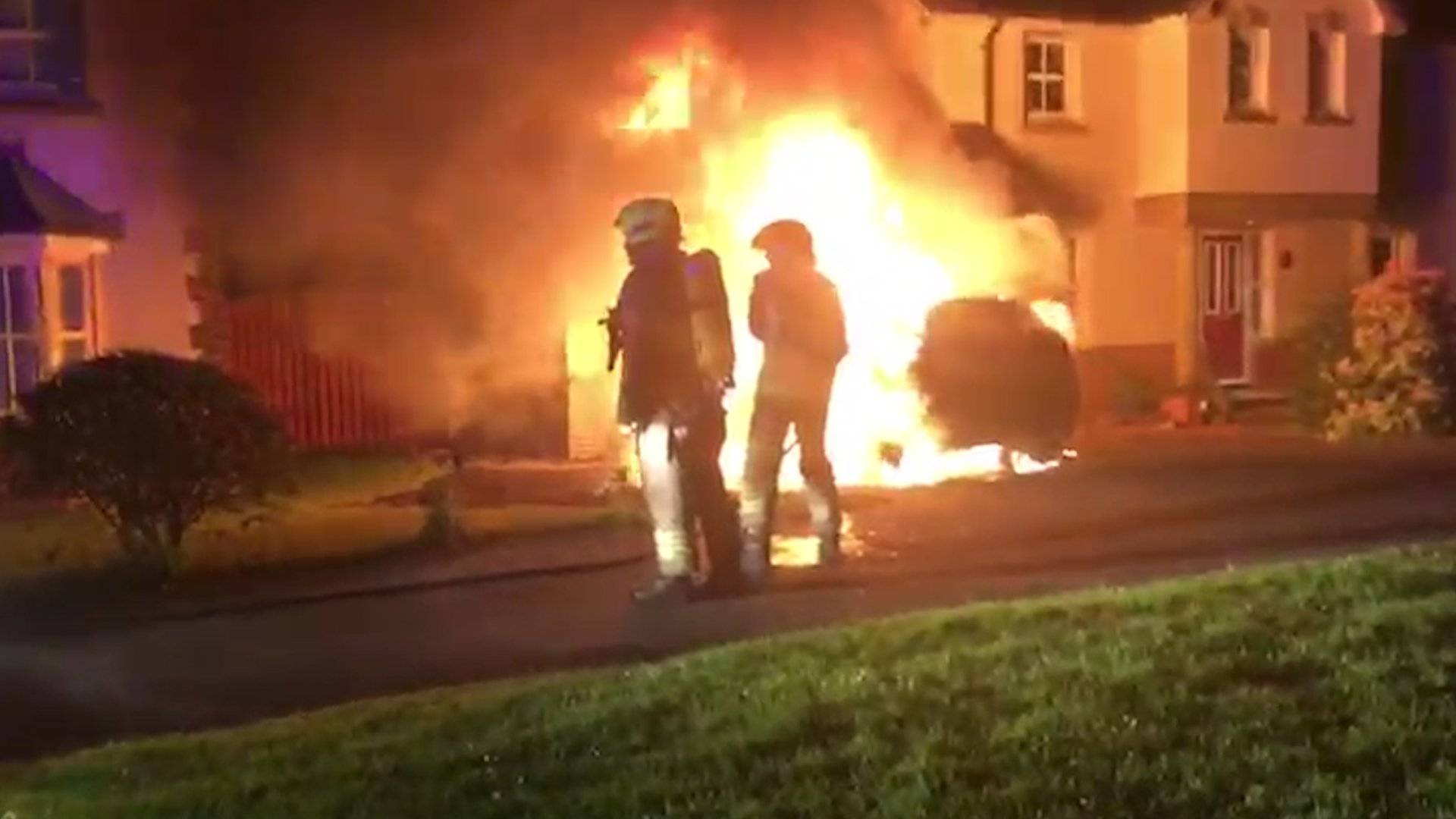 Councillor's car set on fire outside Strathaven home
