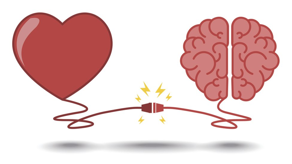 A heart wired up to a brain